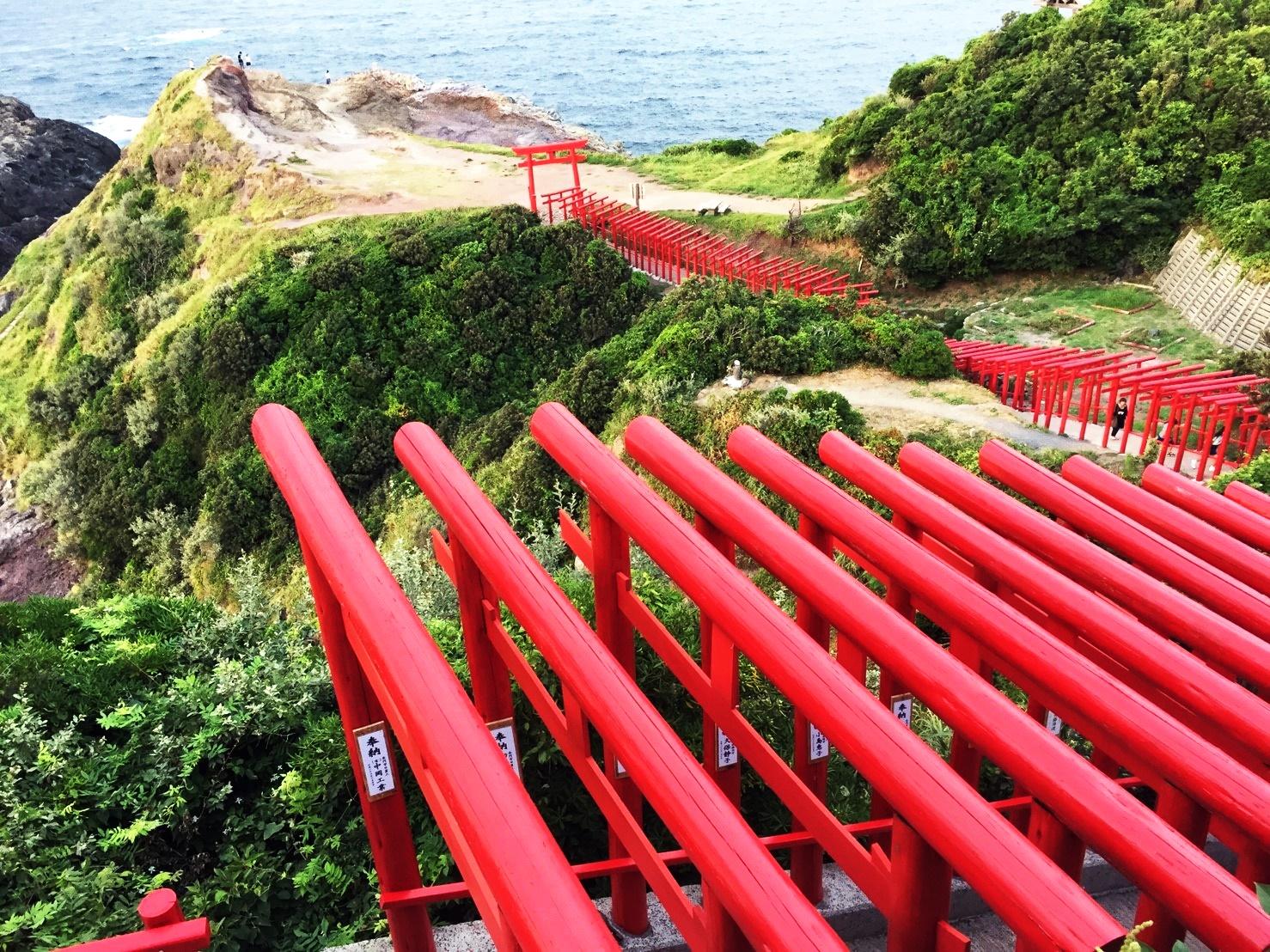 美しい元乃隅稲成神社