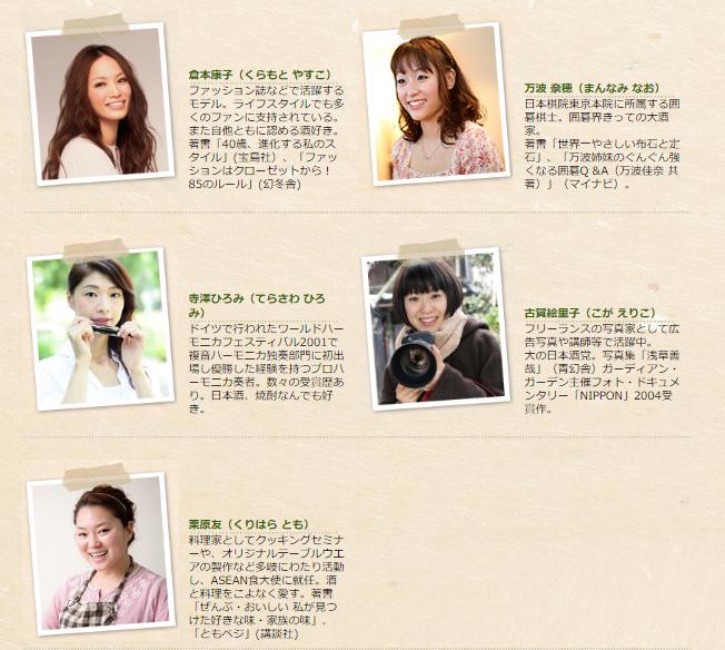 出典:http://www.bs-tbs.co.jp/onnasakaba/hanter/index.html