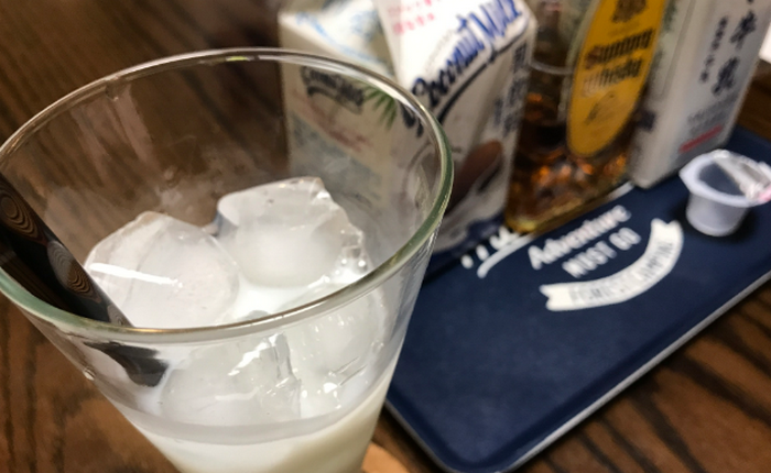 ココナッツミルクとウイスキー1