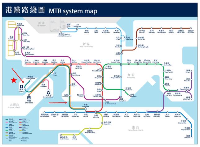 香港電車マップ
